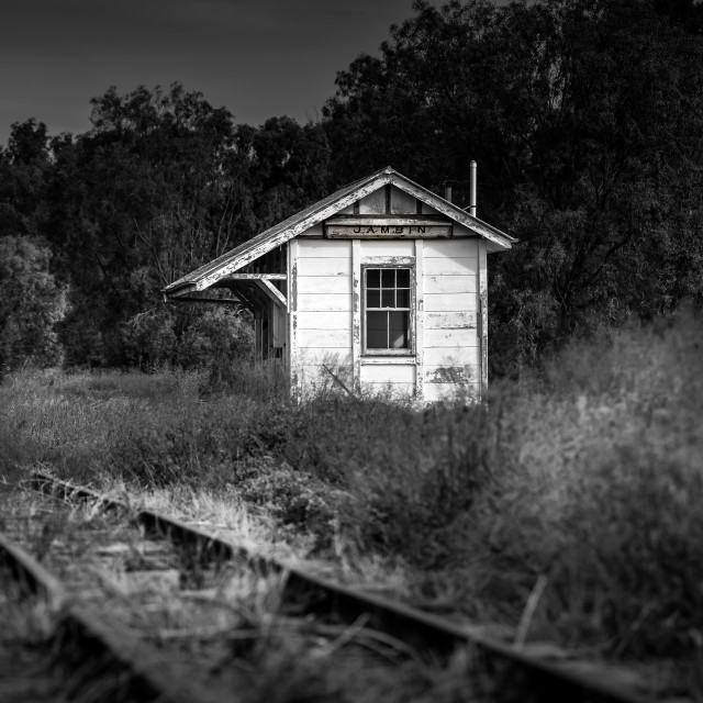 """Railway Siding Extinction"" stock image"