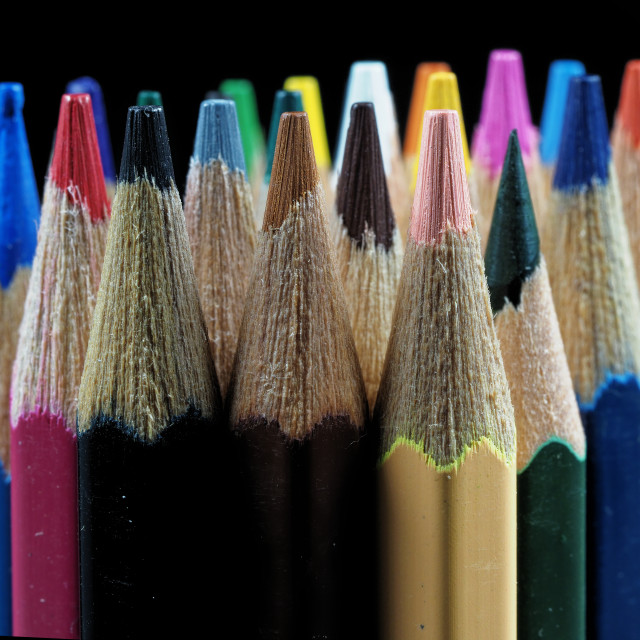 """Pencils"" stock image"