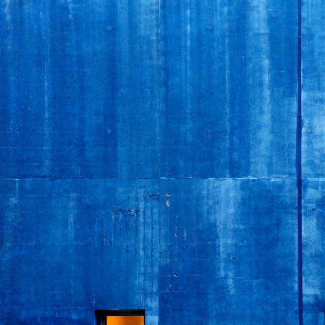 """""""Blue Epinettes"""" stock image"""