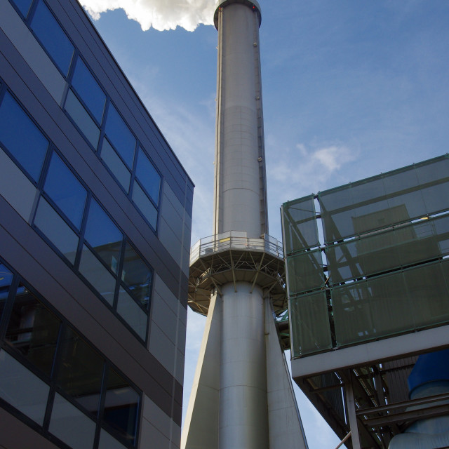 """""""under the Incinerator"""" stock image"""