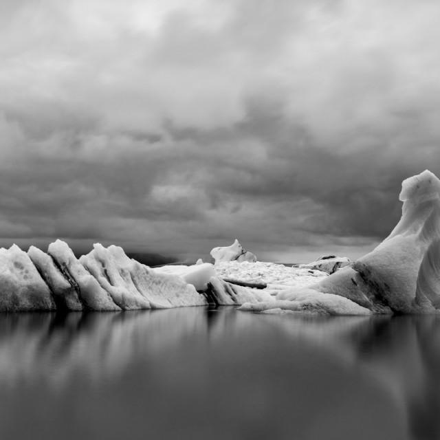 """Iceberg - Jokulsarlon"" stock image"