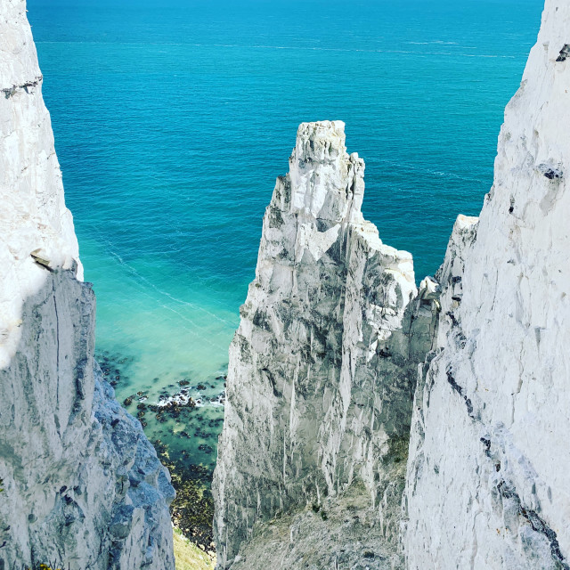 """""""Dover cliffs"""" stock image"""