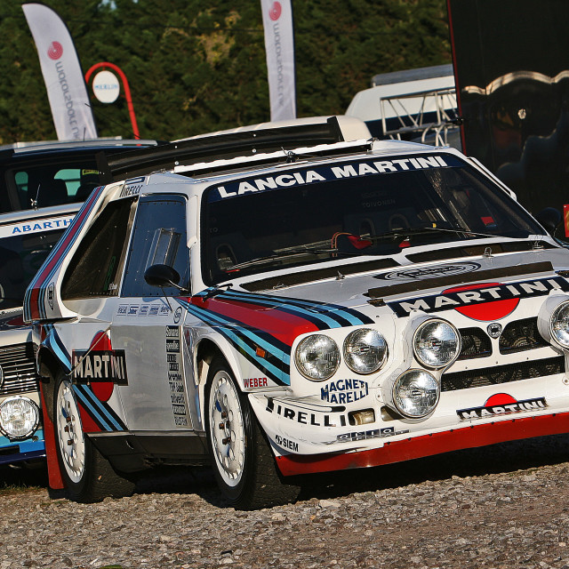 """Lancia Delta S4"" stock image"