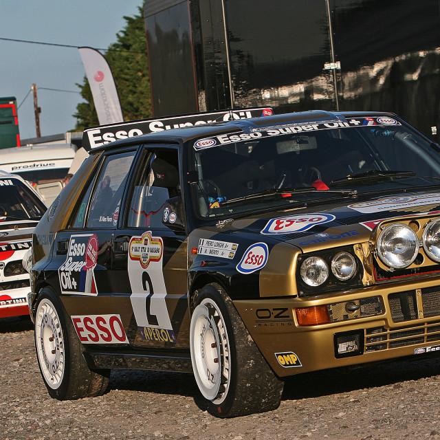 """Lancia Delta"" stock image"