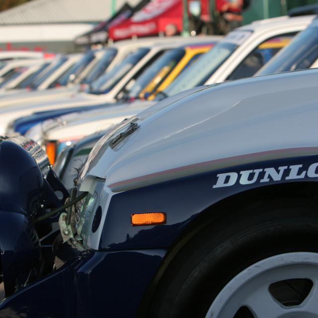 """Racing MG Metro 6R4"" stock image"