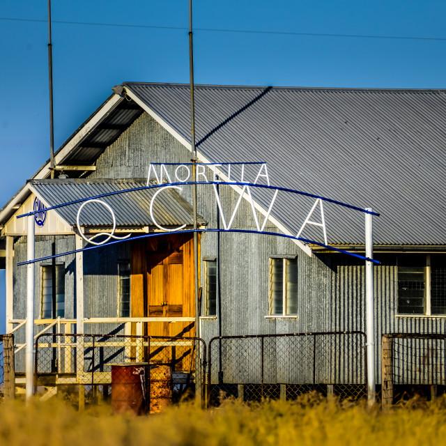 """QCWA Hall Morella"" stock image"