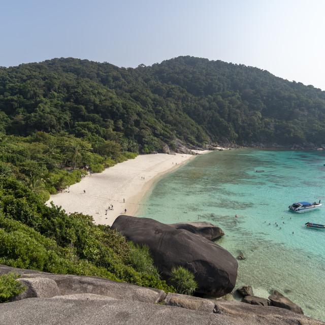 """""""Ko Miang, Similan Islands, Thailand."""" stock image"""