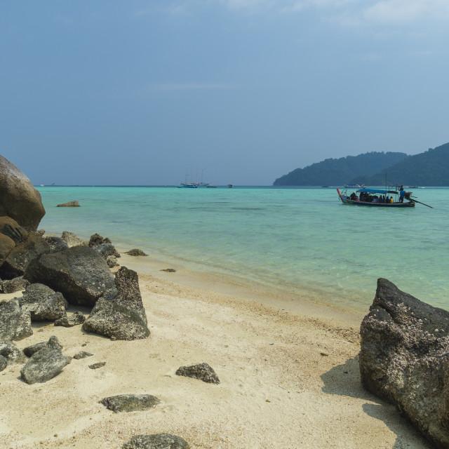 """Ko Surin Island, Mu Koh Surin Marine National Park, Thailand."" stock image"