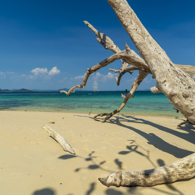 """Ko Kradan, Talay Trang archipelago, Thailand."" stock image"
