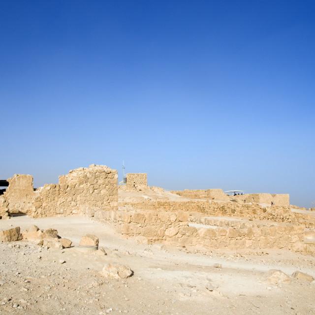 """""""Israel, Masada"""" stock image"""