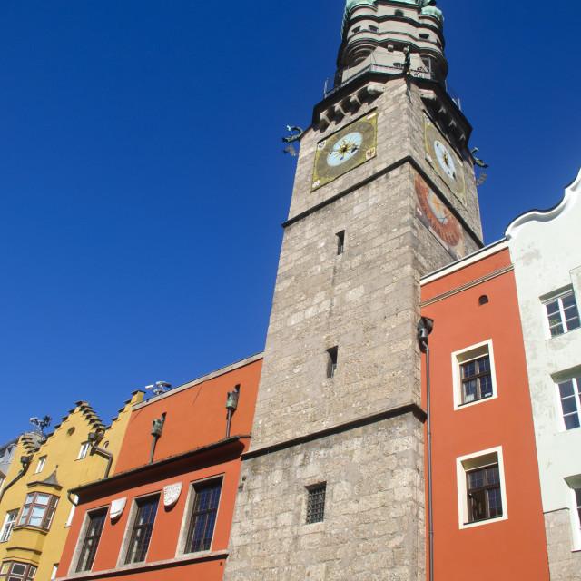 """""""Austria, Innsbruck"""" stock image"""