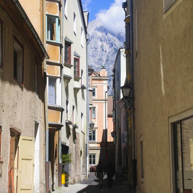 """Austria, Hall in Tirol"" stock image"