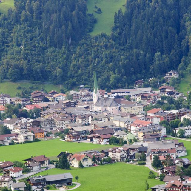 """Mayrhofen, Austria"" stock image"