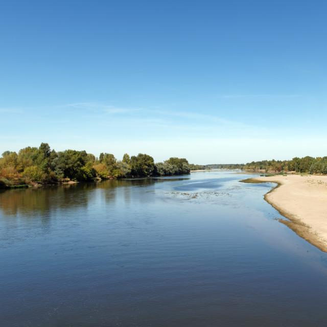 """""""Beaulieu sur Loire"""" stock image"""