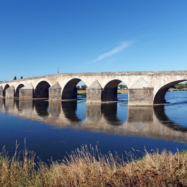 """Gien Bridge"" stock image"