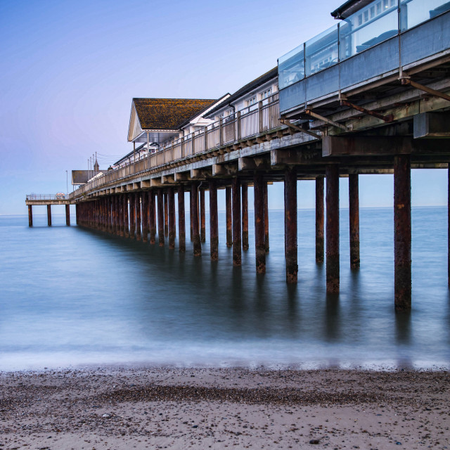 """Southwold Calm"" stock image"