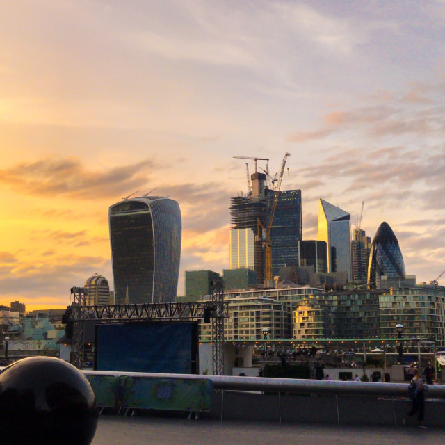 """London city"" stock image"