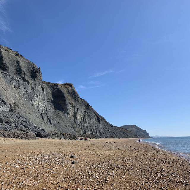 """Dorset beach"" stock image"
