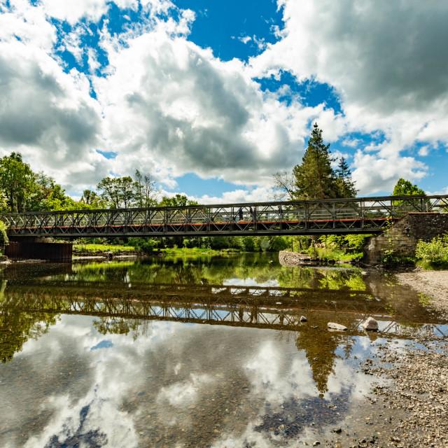 """""""Pooley Bridge"""" stock image"""