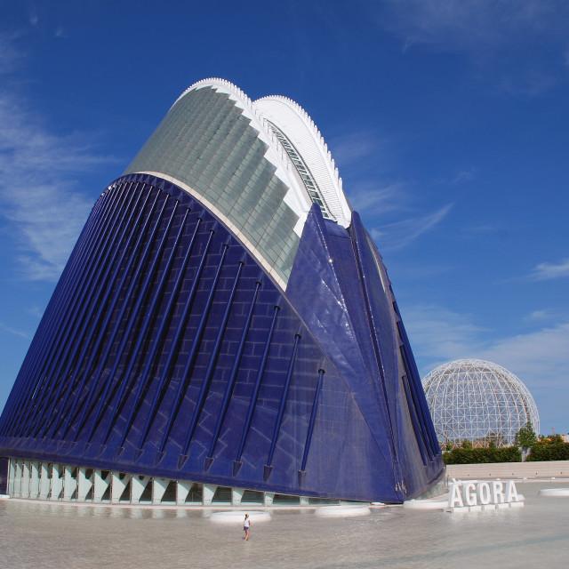 """The Agora in Valencia"" stock image"