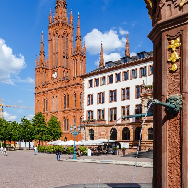 """Wiesbaden, Germany"" stock image"