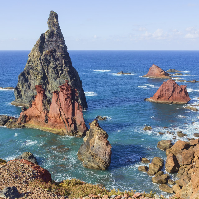 """Ponta de Sao Lourenco landscape in Madeira"" stock image"