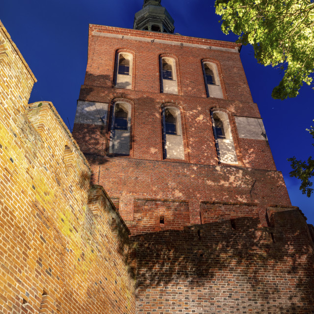 """""""Copernicus Tower in Frombork"""" stock image"""