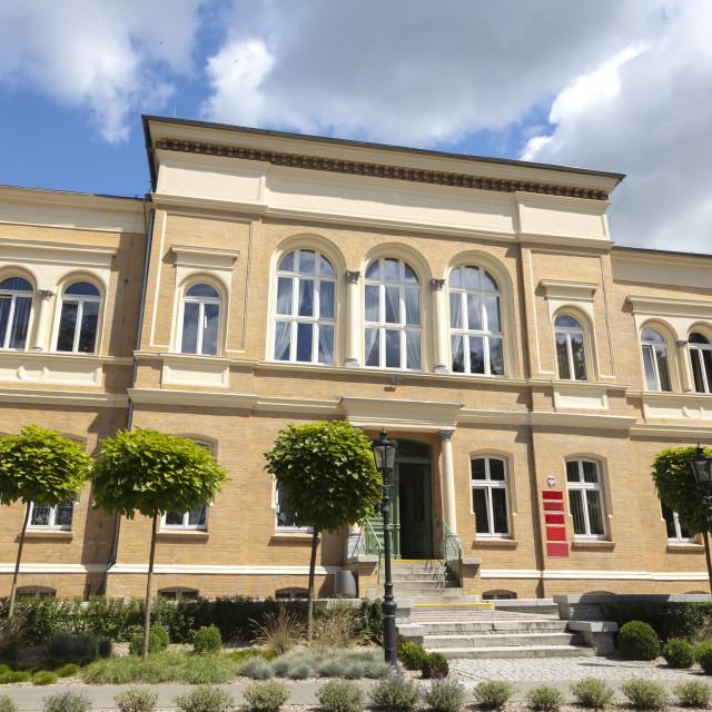 """City Hall of Ostroda"" stock image"