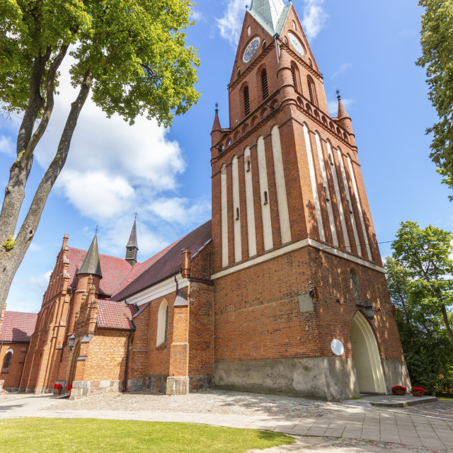 """""""Shrine of Our Lady Gietrzwald"""" stock image"""