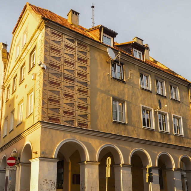 """Old town of Olsztyn"" stock image"
