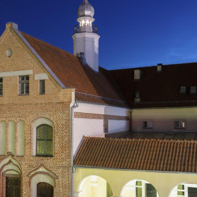 """Old town hall of Olsztyn"" stock image"