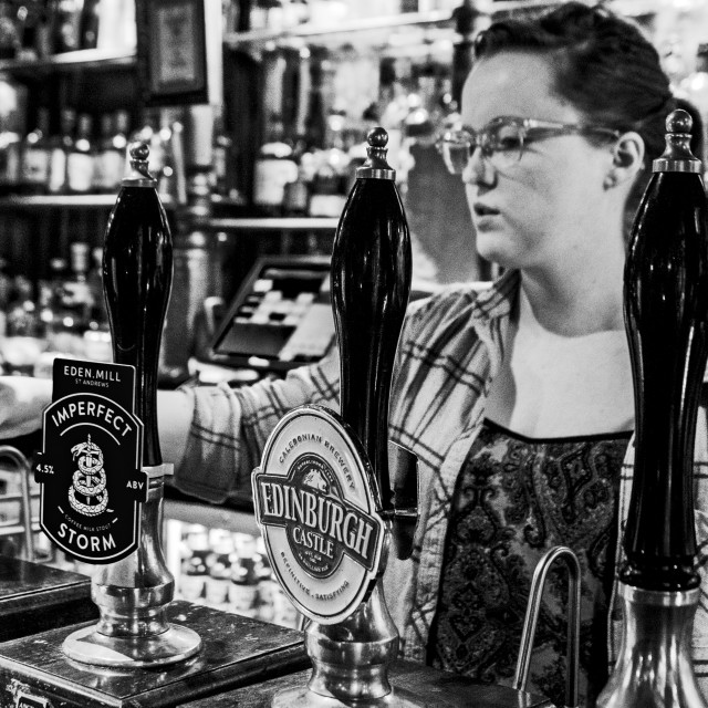 """In the pub"" stock image"