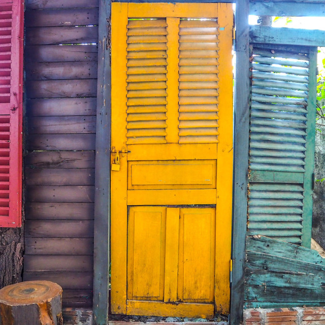 """Colourful openings"" stock image"