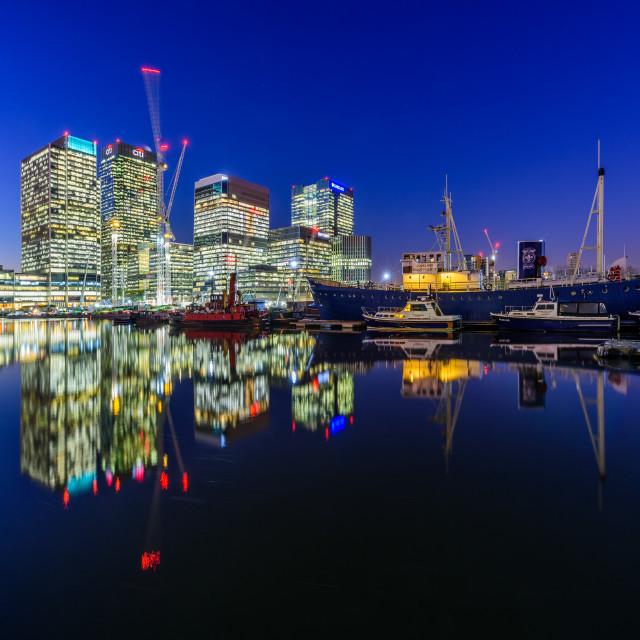 """Canary Wharf, London, UK (III)"" stock image"