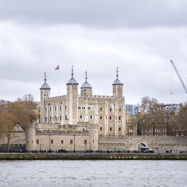 """The Tower of London"" stock image"