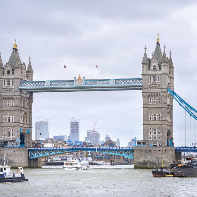 """Tower Bridge, London."" stock image"