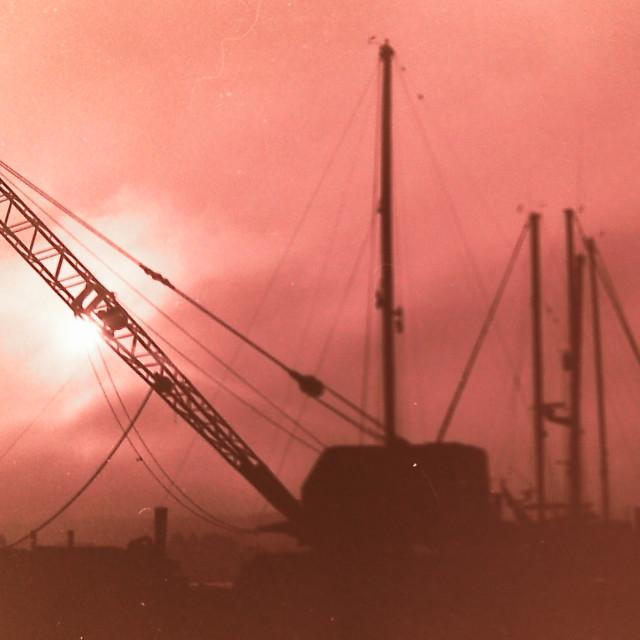 """""""Dock Crane"""" stock image"""
