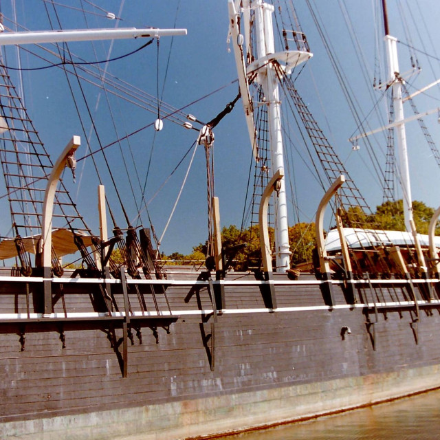 """Tall Ship"" stock image"