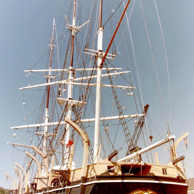 """Tall Ship Morgan"" stock image"