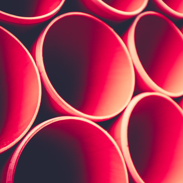 """""""Abstract Background Of Red Pipes"""" stock image"""