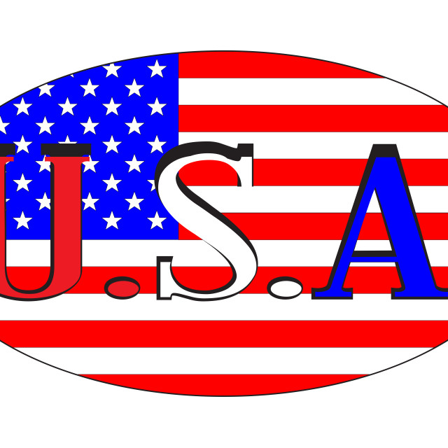 """""""USA Isolated Rugby Ball"""" stock image"""