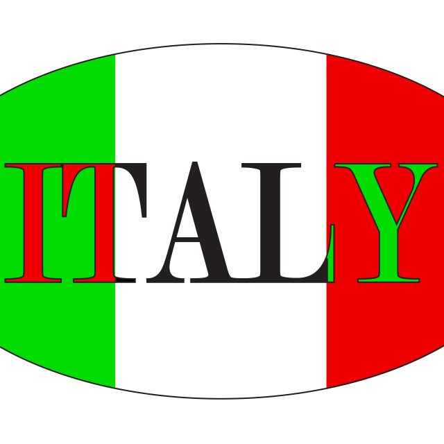 """""""Italian Isolated Rugby Ball"""" stock image"""