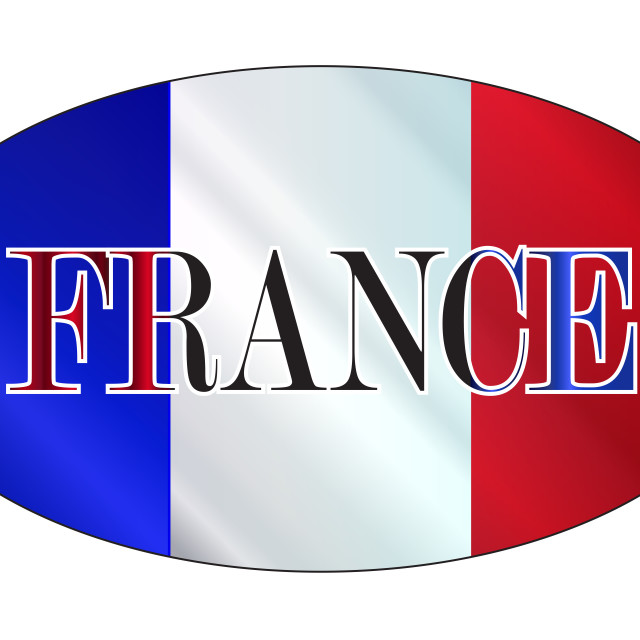 """""""French Isolated Rugby Ball"""" stock image"""