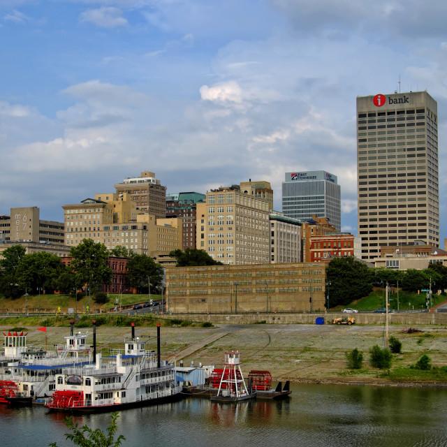 """Memphis Skyline"" stock image"