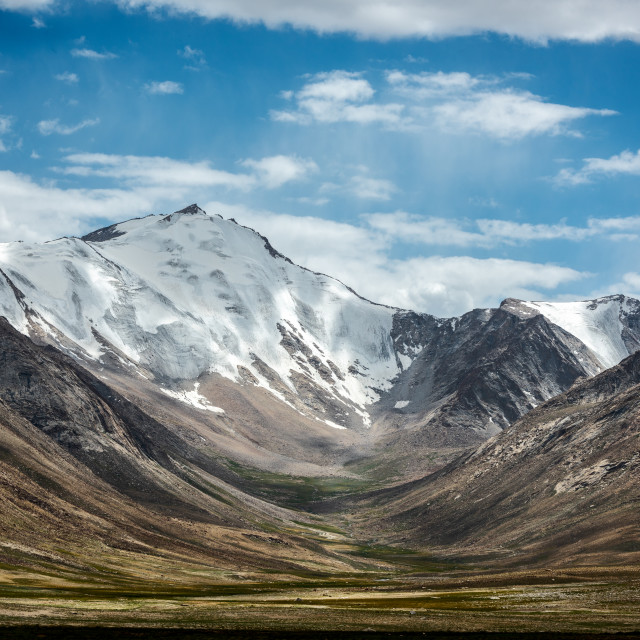 """Mountains near Kara-Seky Pass"" stock image"