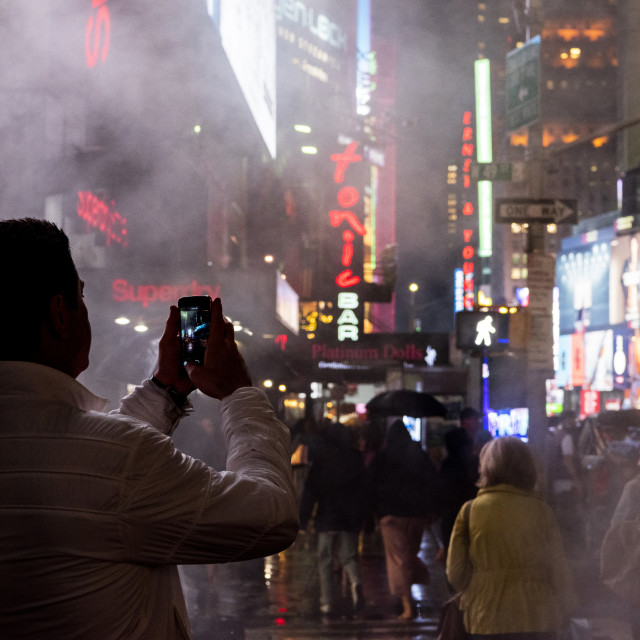 """""""Photo of Time Square"""" stock image"""