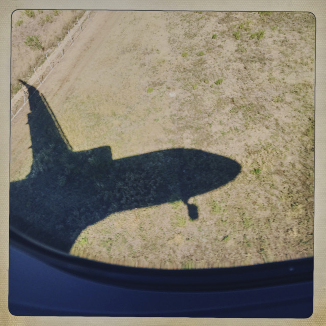 """Airplane"" stock image"