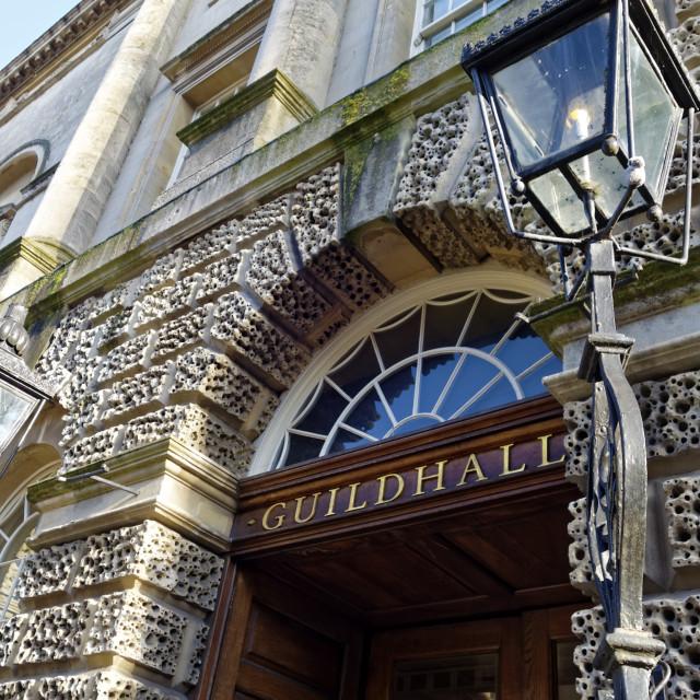 """Guildhall Bath"" stock image"