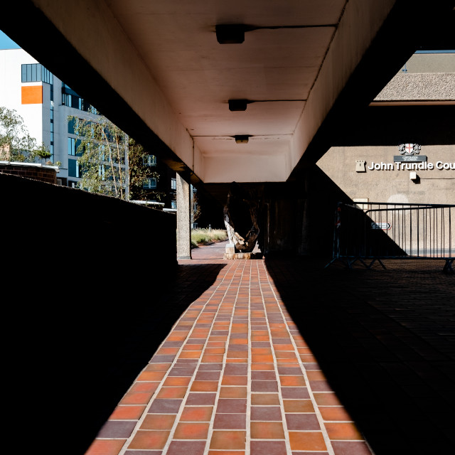 """Barbican Shadows 4"" stock image"