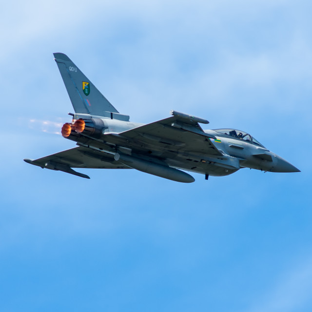 """Eurofighter Typhoon Aircraft"" stock image"